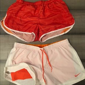 Pants - Lot of 2 large athletic shorts, Nike & Pony